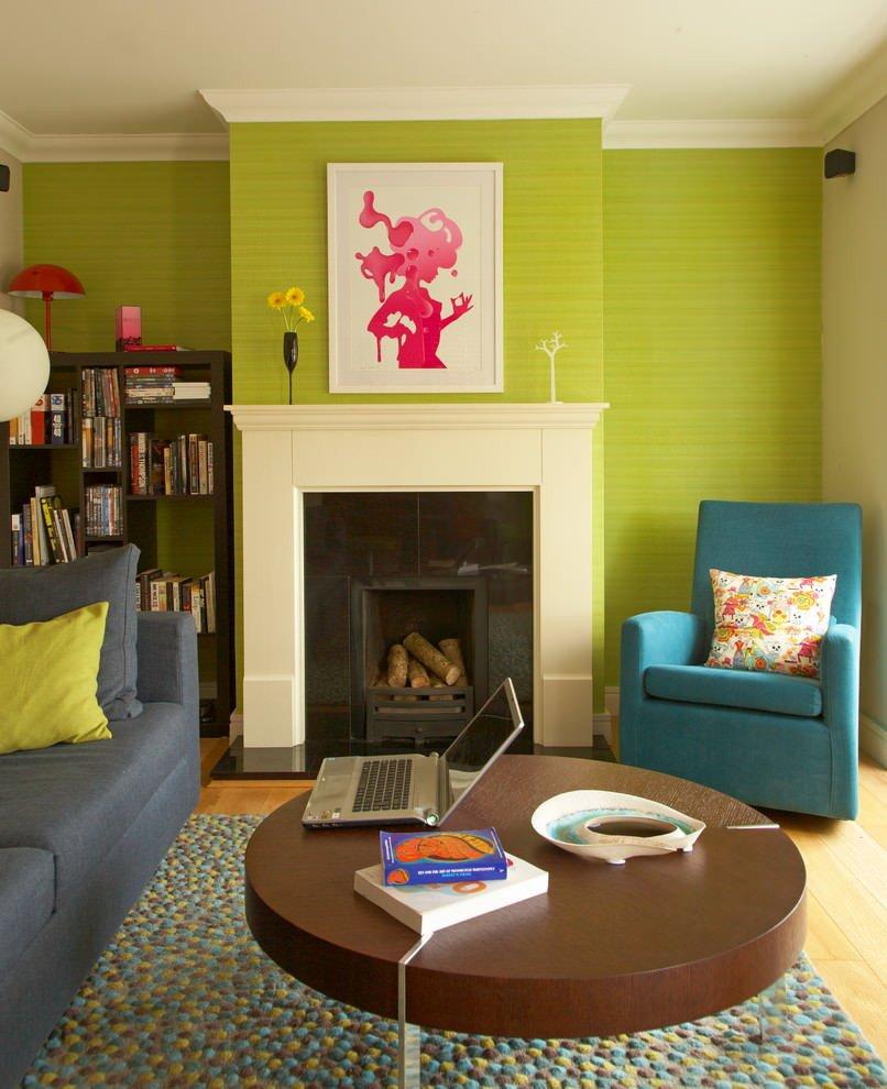 Lime Green Living Room Decor Lovely 23 Green Wall Designs Decor Ideas