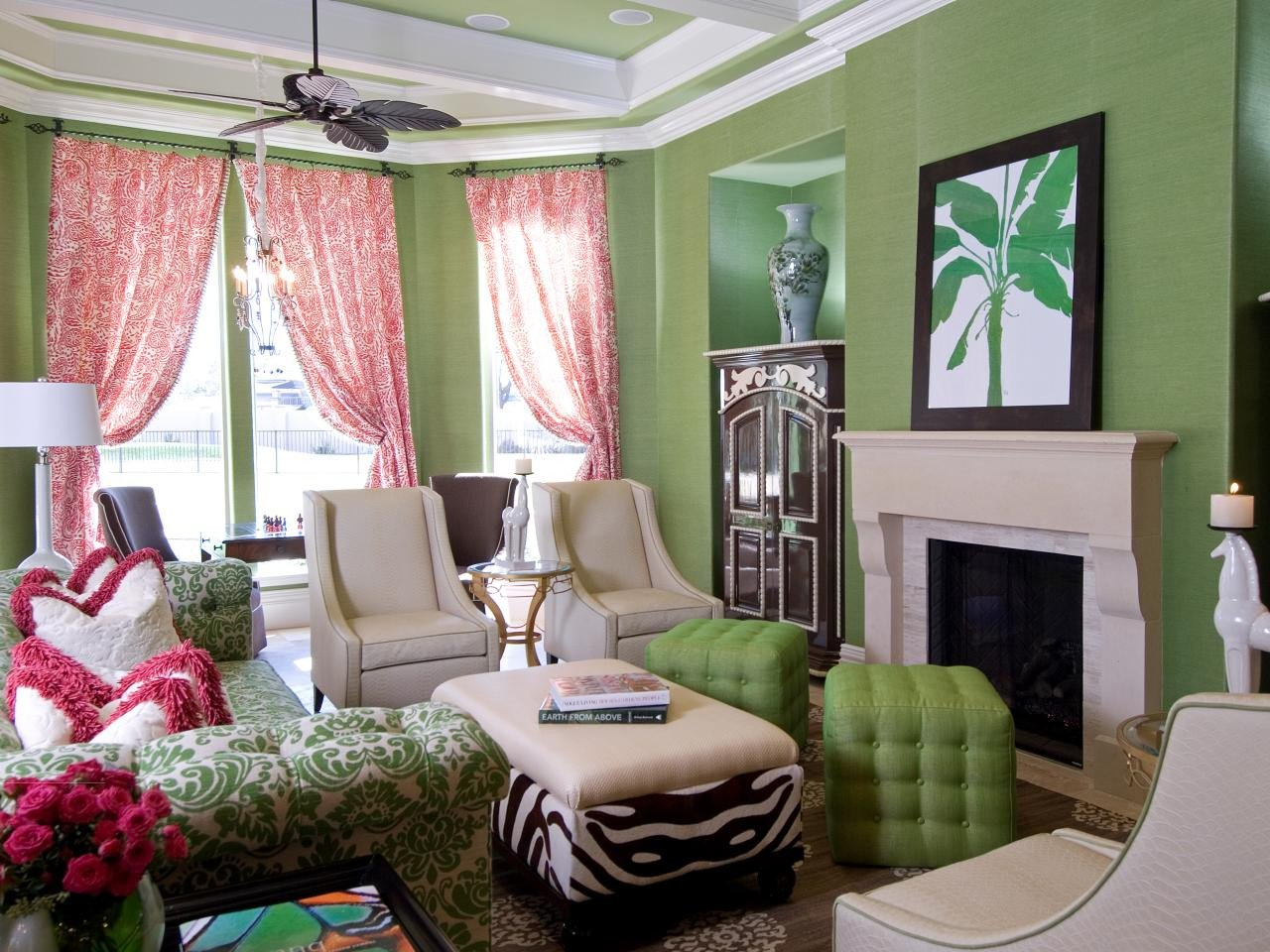 Lime Green Living Room Decor Luxury Lime Green Living Room Design with Fresh Colors