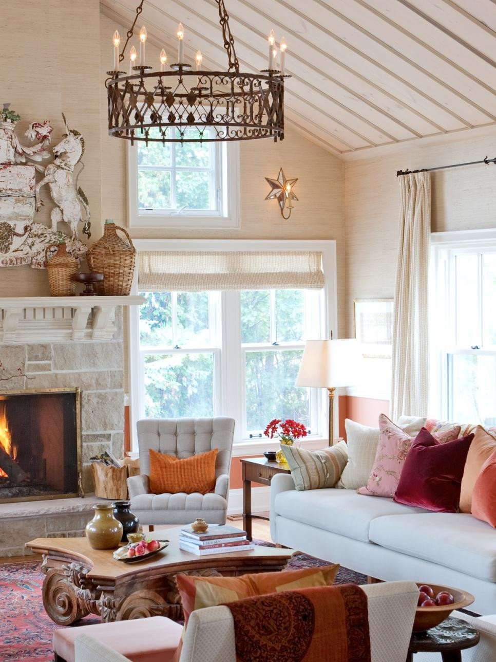 Living Room Decor with Fireplace Beautiful 20 Mantel and Bookshelf Decorating Tips