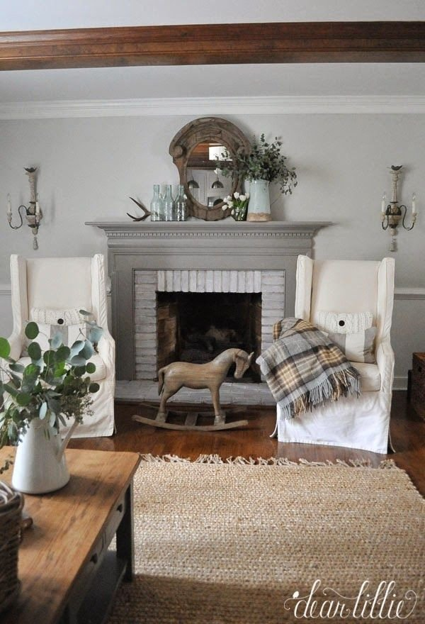 Living Room Decor with Fireplace Inspirational 17 Best Images About House Decor Mantel On Pinterest