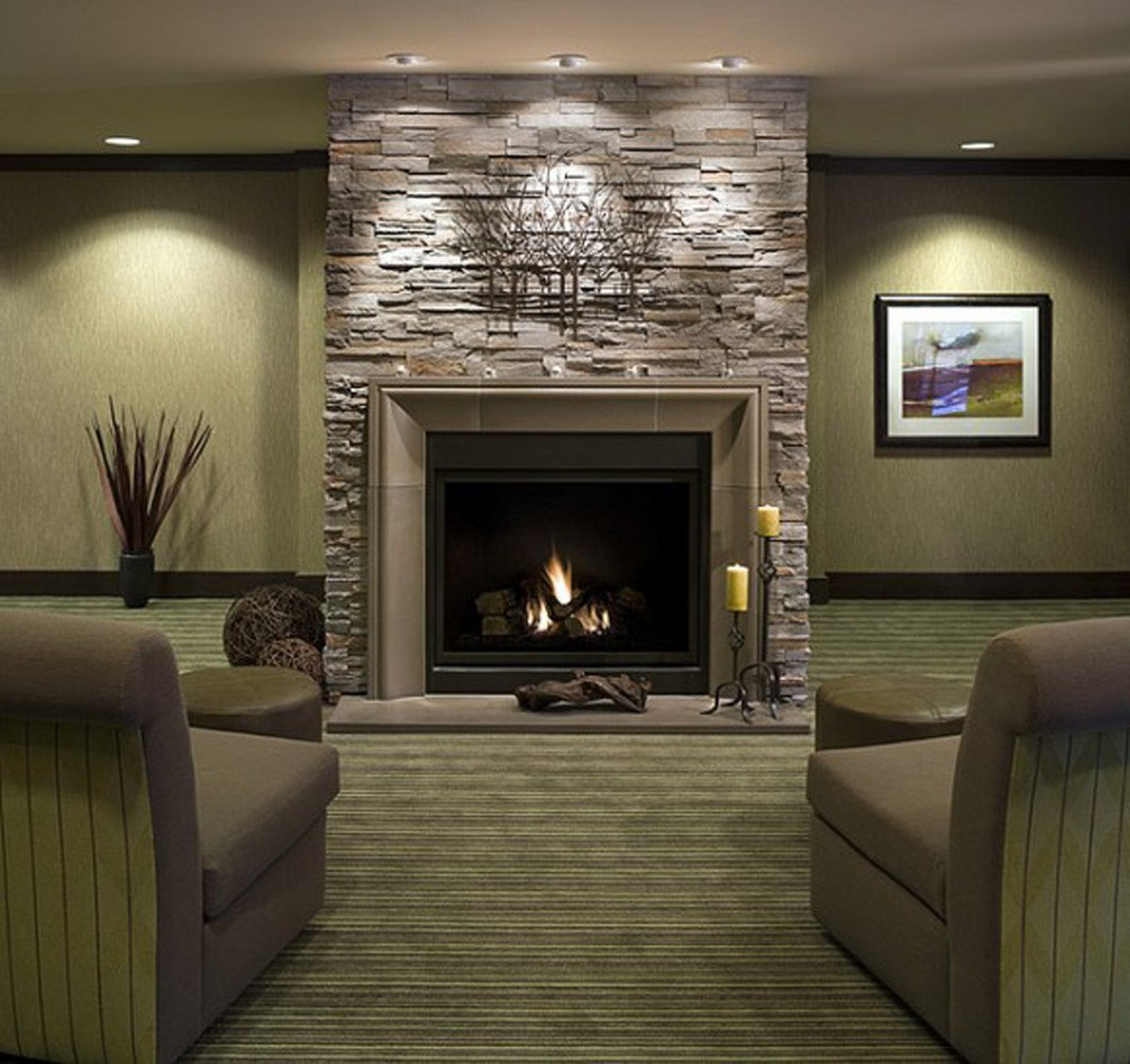 Living Room Decor with Fireplace Luxury Decorations Interior Marvelous Stone Fireplace with Grey