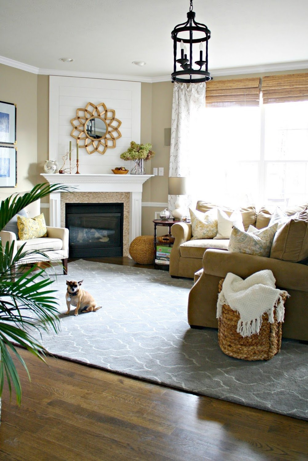 Living Room Decor with Fireplace New Our Home From Thrifty Decor Chick