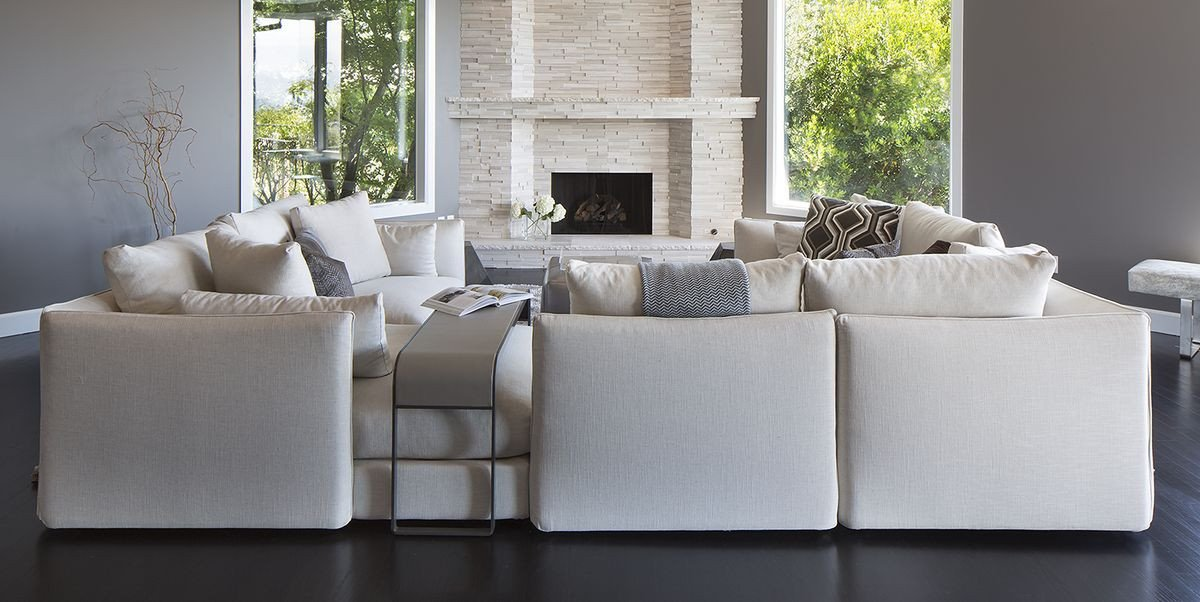 Living Room Decor with Sectional Luxury 40 Sectional sofas for Every Style Living Room Decor