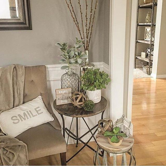 Living Room End Table Decor Beautiful Best 25 Side Table Decor Ideas On Pinterest