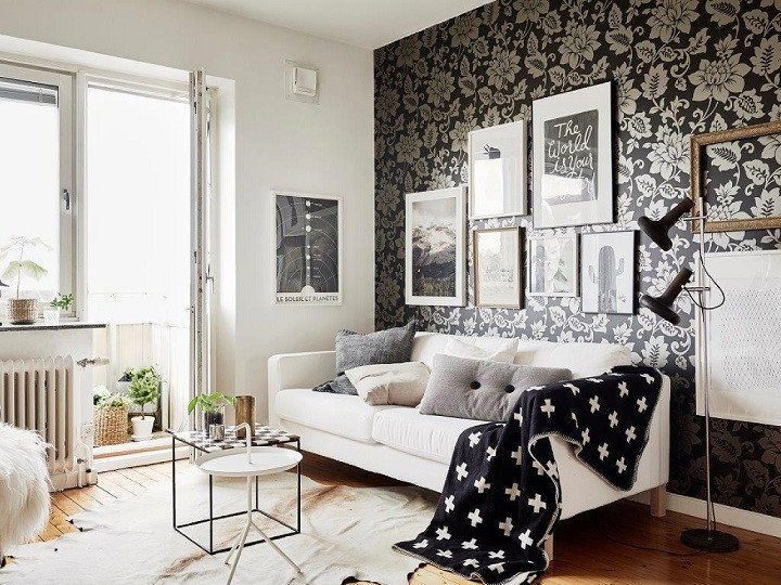 Living Room Ideas Black Awesome 48 Black and White Living Room Ideas Decoholic