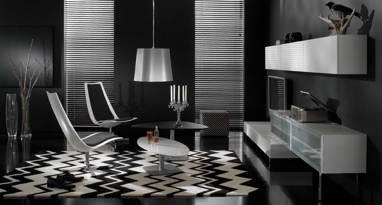 Living Room Ideas Black Beautiful 17 Inspiring Wonderful Black and White Contemporary