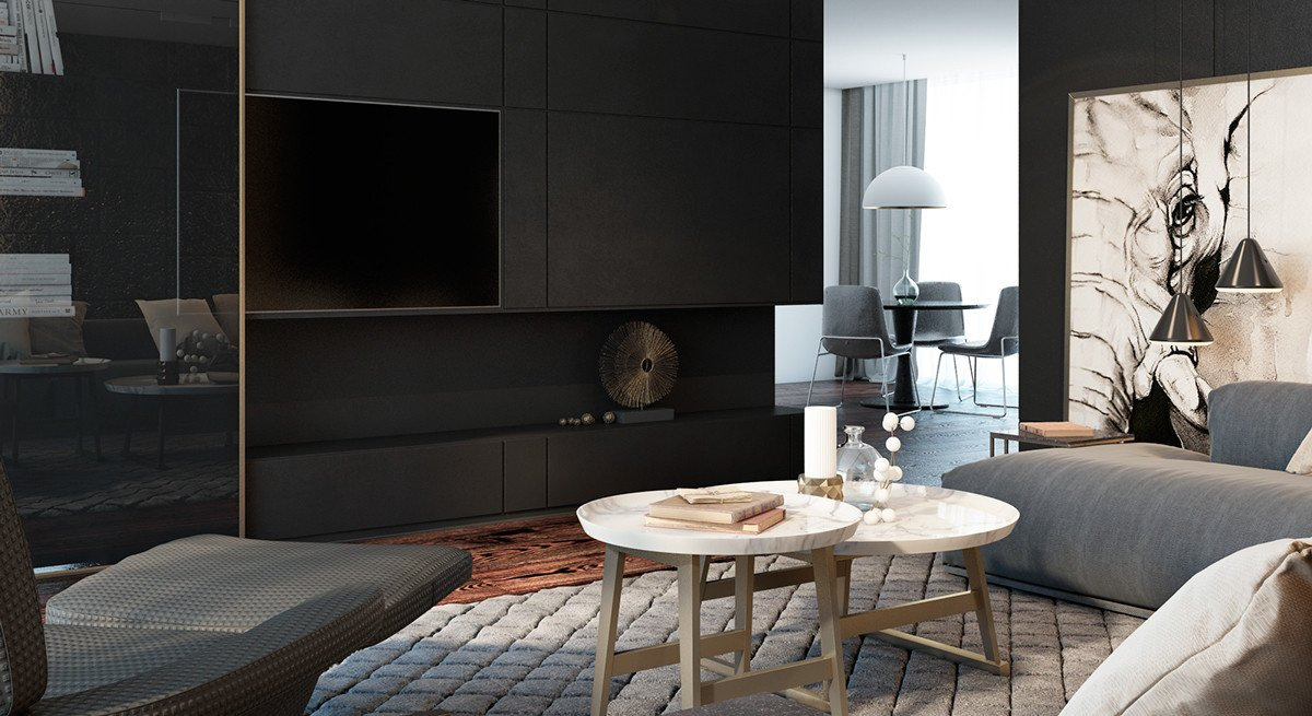 Living Room Ideas Black Fresh Black Living Rooms Ideas & Inspiration