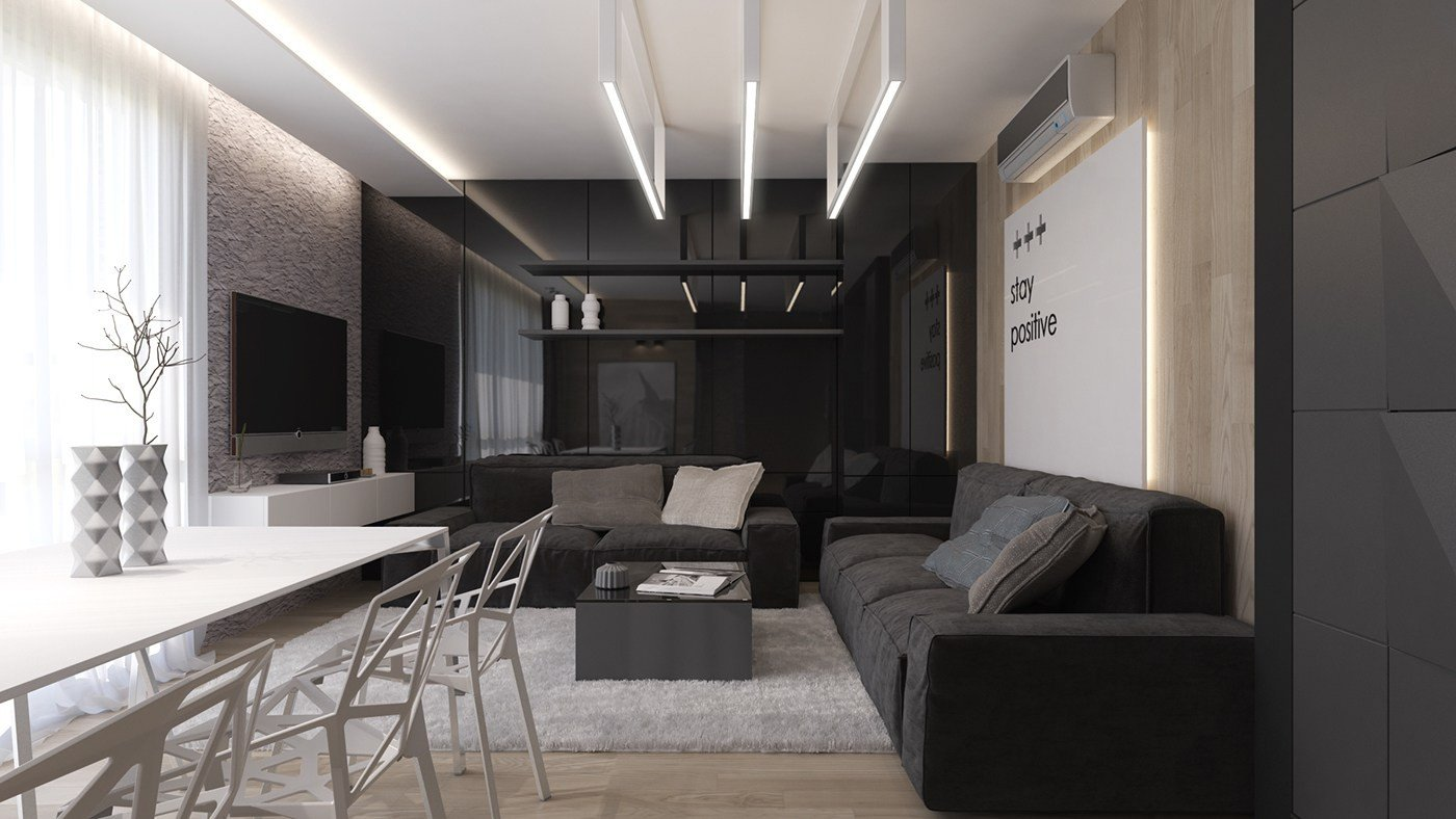 Living Room Ideas Black Inspirational Black Living Rooms Ideas & Inspiration