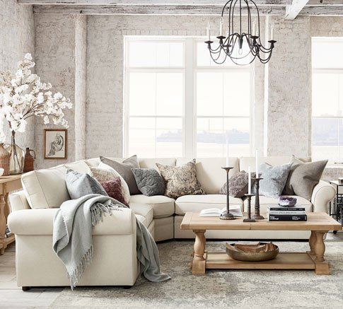 Living Room Ideas Pottery Barn Awesome Living Room Ideas Furniture & Decor