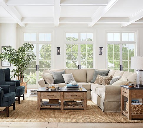 Living Room Ideas Pottery Barn New Living Room Ideas Furniture & Decor