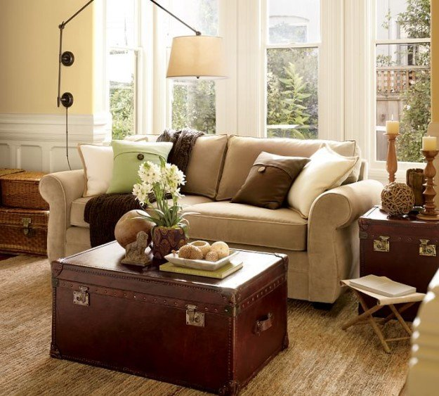 "Living Room Ideas Pottery Barn New Modernizing and ""eclecticizing"" A Pottery Barn Living Room"