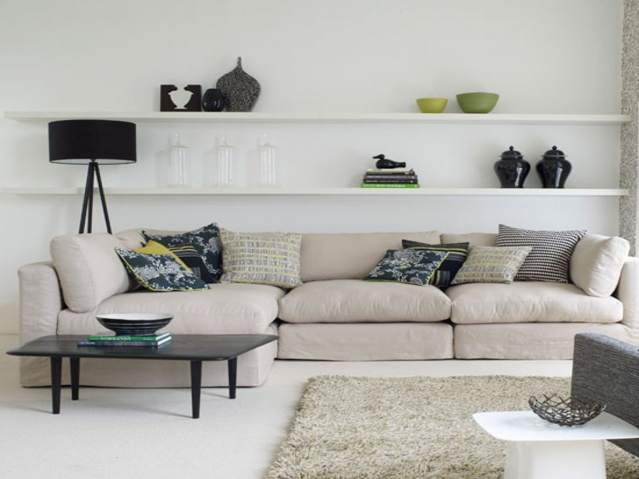 Living Room Ideas Shelves Awesome Decorating Shelves Living Room