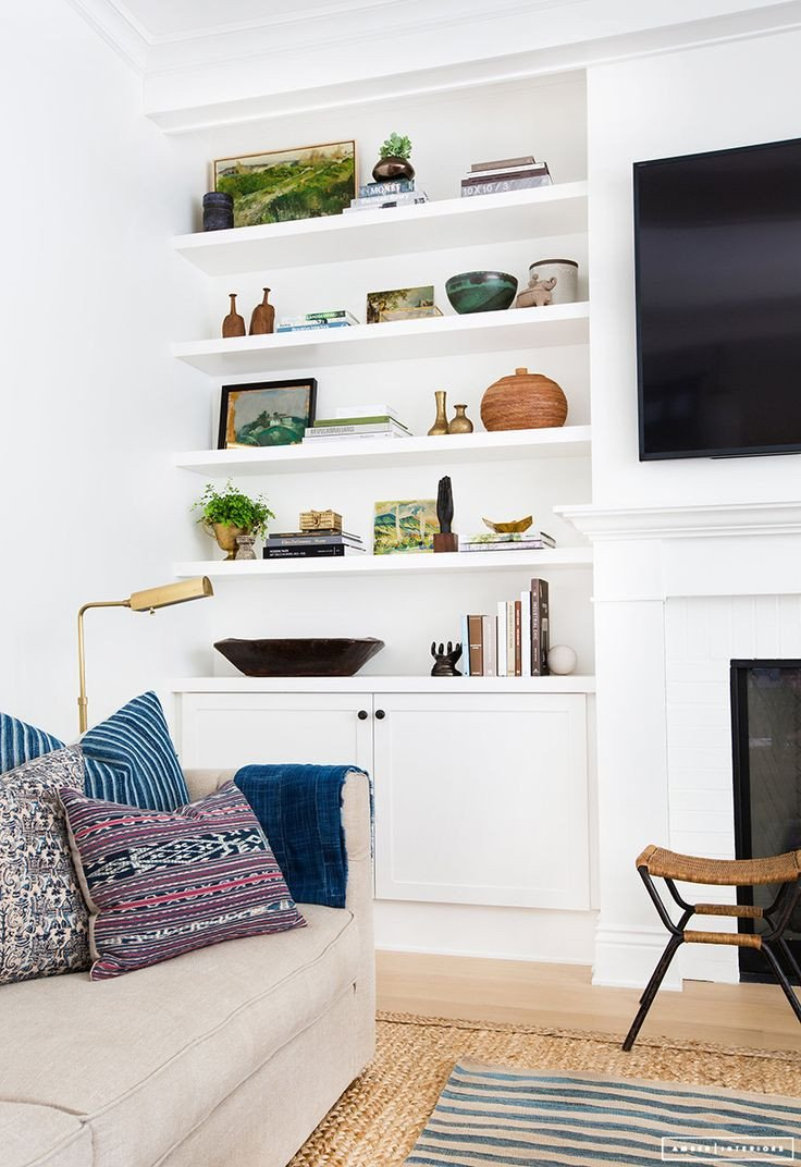 Living Room Ideas Shelves Inspirational Best 25 Living Room Bookshelves Ideas On Pinterest