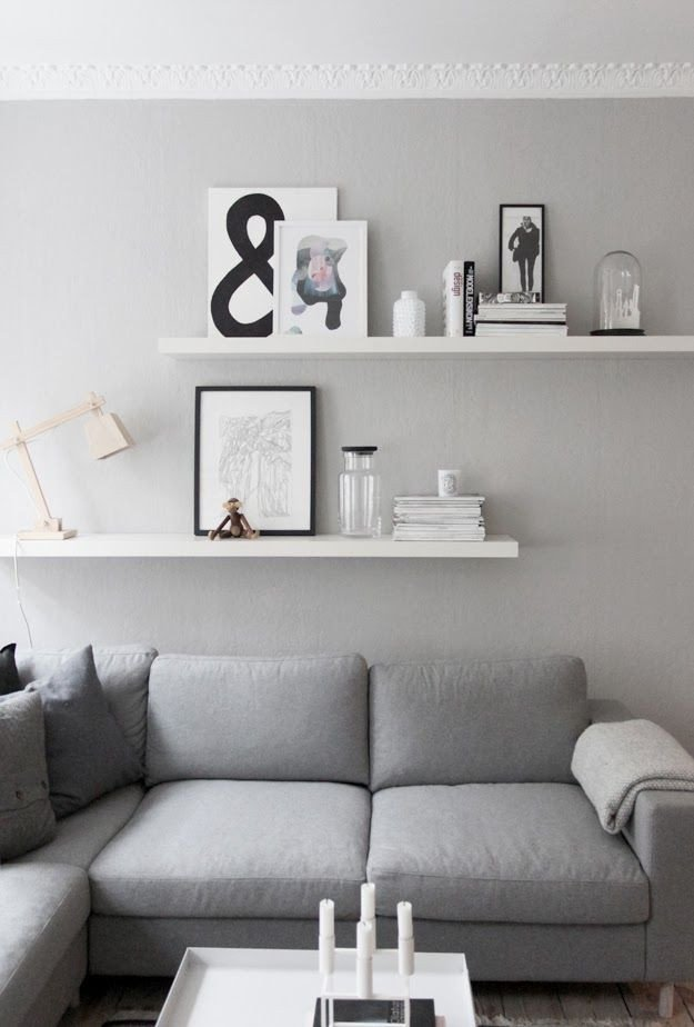 Living Room Ideas Shelves Lovely Living Room Details Grey Walls From Createcph