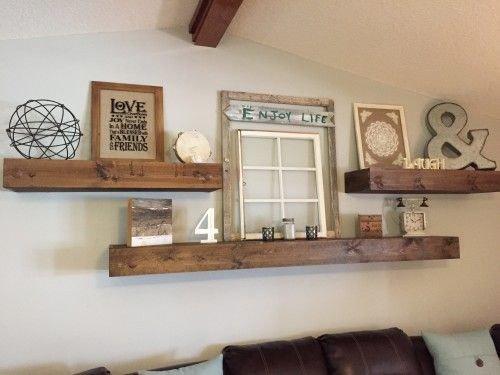 Living Room Ideas Shelves Luxury Floating Shelves Decor