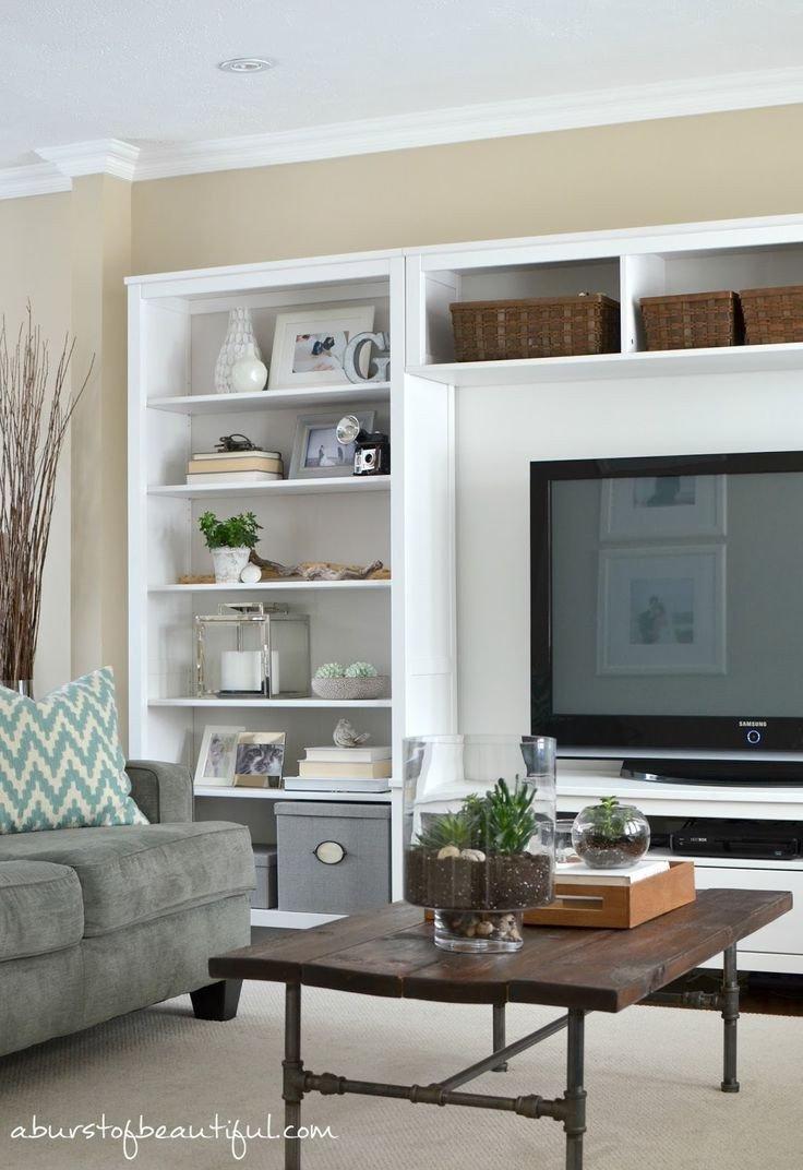 Living Room Ideas Shelves New 17 Ideas About Living Room Shelving On Pinterest