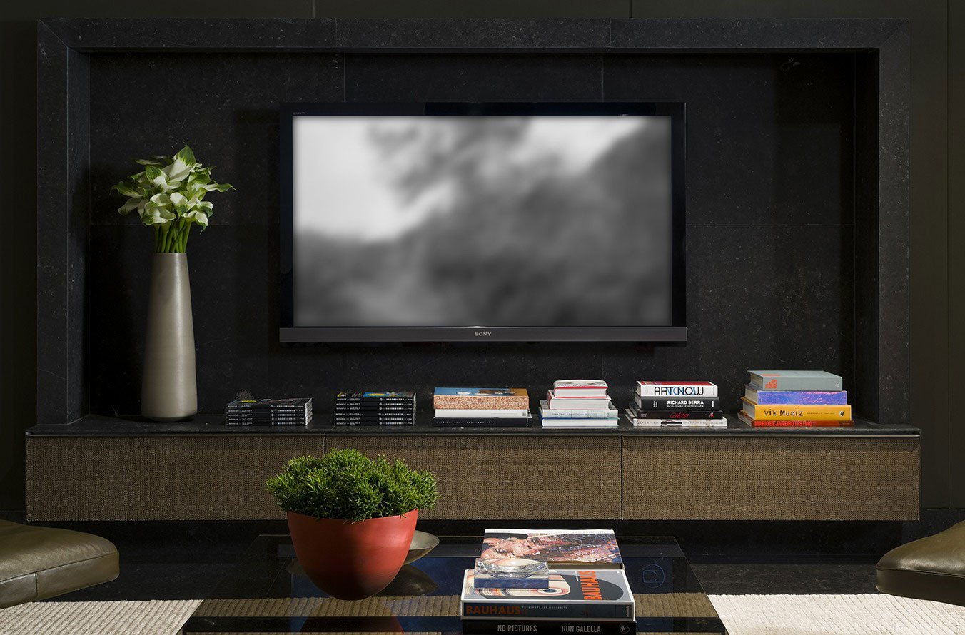 Living Room Ideas Tv Stand Inspirational Contemporary Interior Project 910 by Kiko Salom£o