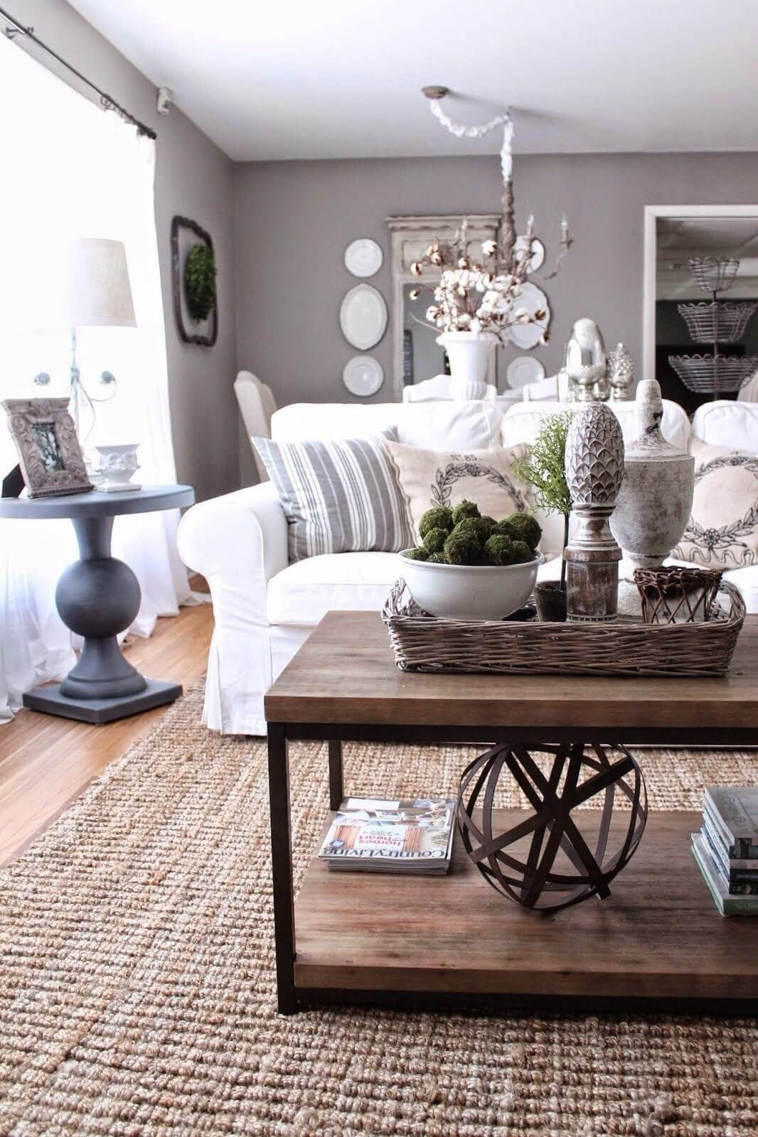 Living Room Table Decor Ideas Inspirational 37 Best Coffee Table Decorating Ideas and Designs for 2019