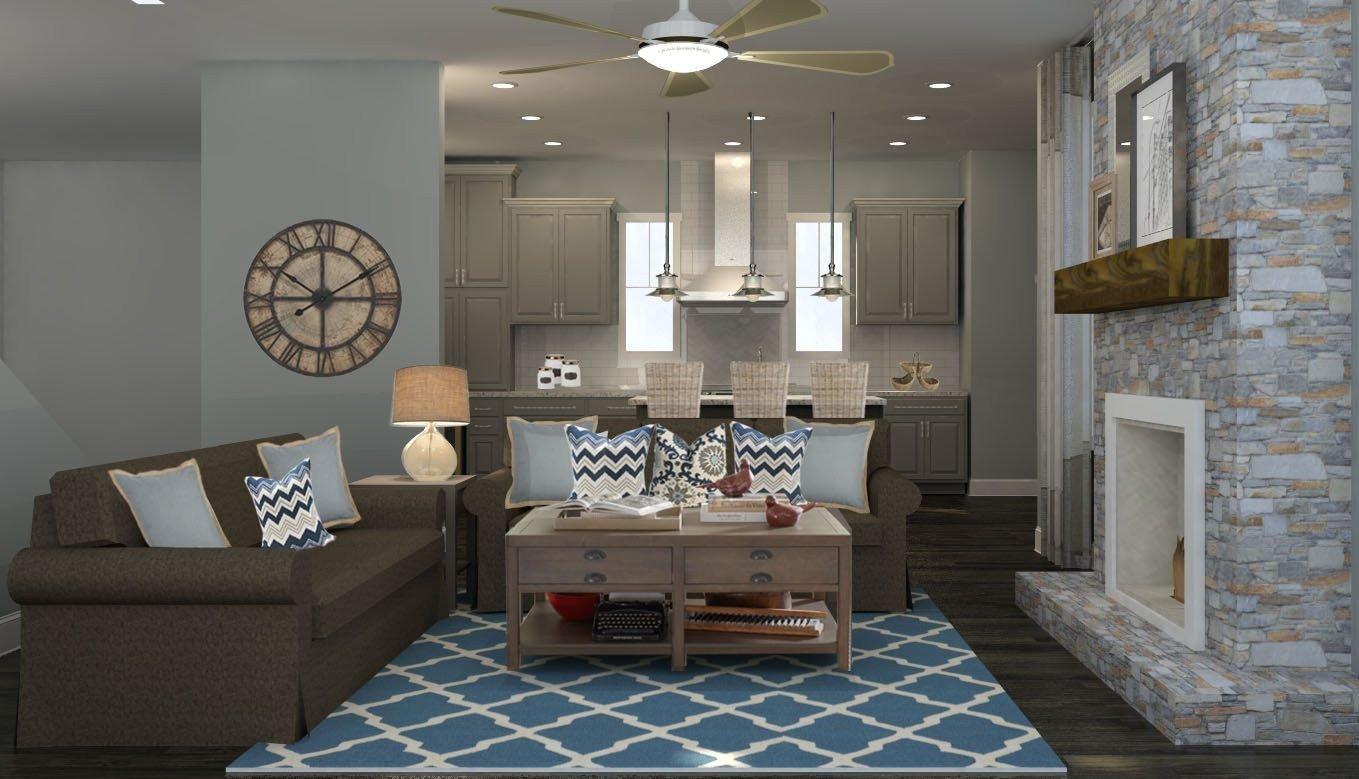 Modern Rustic Decor Living Room Elegant Modern Rustic Living Room Design