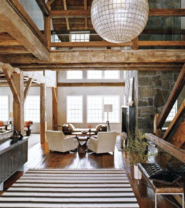 Modern Rustic Decor Living Room Elegant Module 2 – Rooms and John Saladino