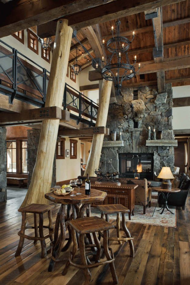 Modern Rustic Decor Living Room New 40 Awesome Rustic Living Room Decorating Ideas Decoholic
