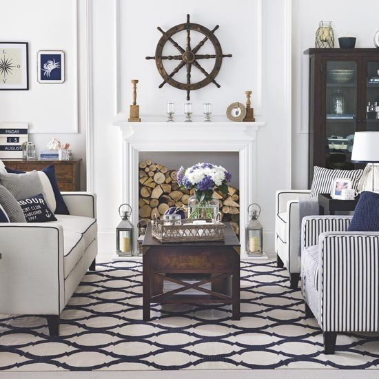 Nautical Decor Ideas Living Room Best Of Living Room Decorating Ideas In Nautical Decor – House