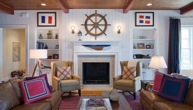 Nautical Decor Ideas Living Room Inspirational 19 Fantastic Nautical Interior Design Ideas for Your Home