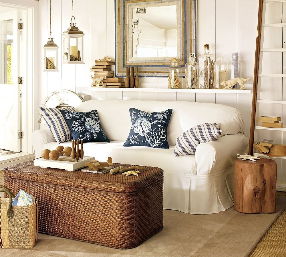 Nautical Decor Ideas Living Room Inspirational Fresh Twist Still Coasting