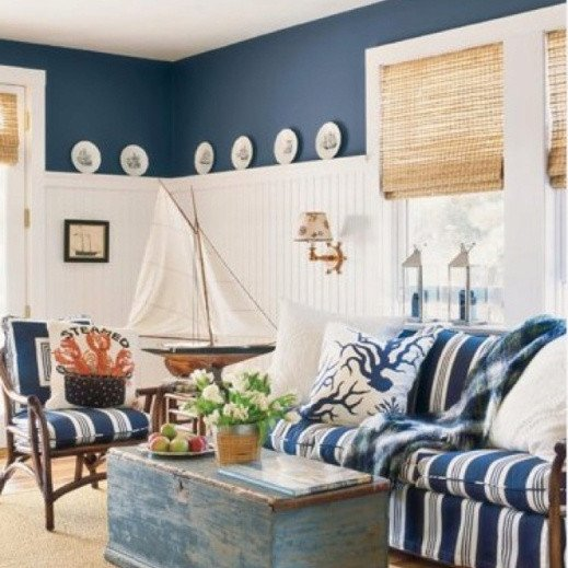 Nautical Decor Ideas Living Room Luxury Modern Coastal Decor