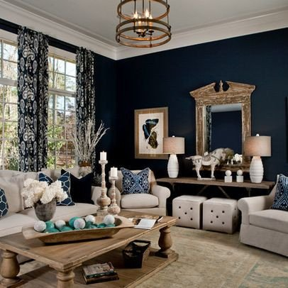 Navy Blue Living Room Decor New Navy Living Room Parade Of Homes 2012 Transitional