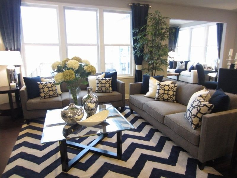 Navy Blue Living Room Decor New the 25 Best Navy Blue and Grey Living Room Ideas On