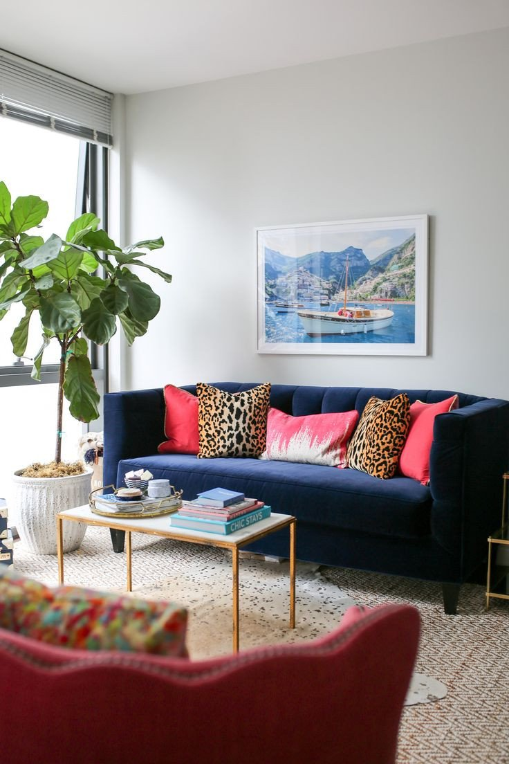 Navy Blue Living Room Decor Unique 25 Best Navy Blue Throw Pillows Ideas On Pinterest