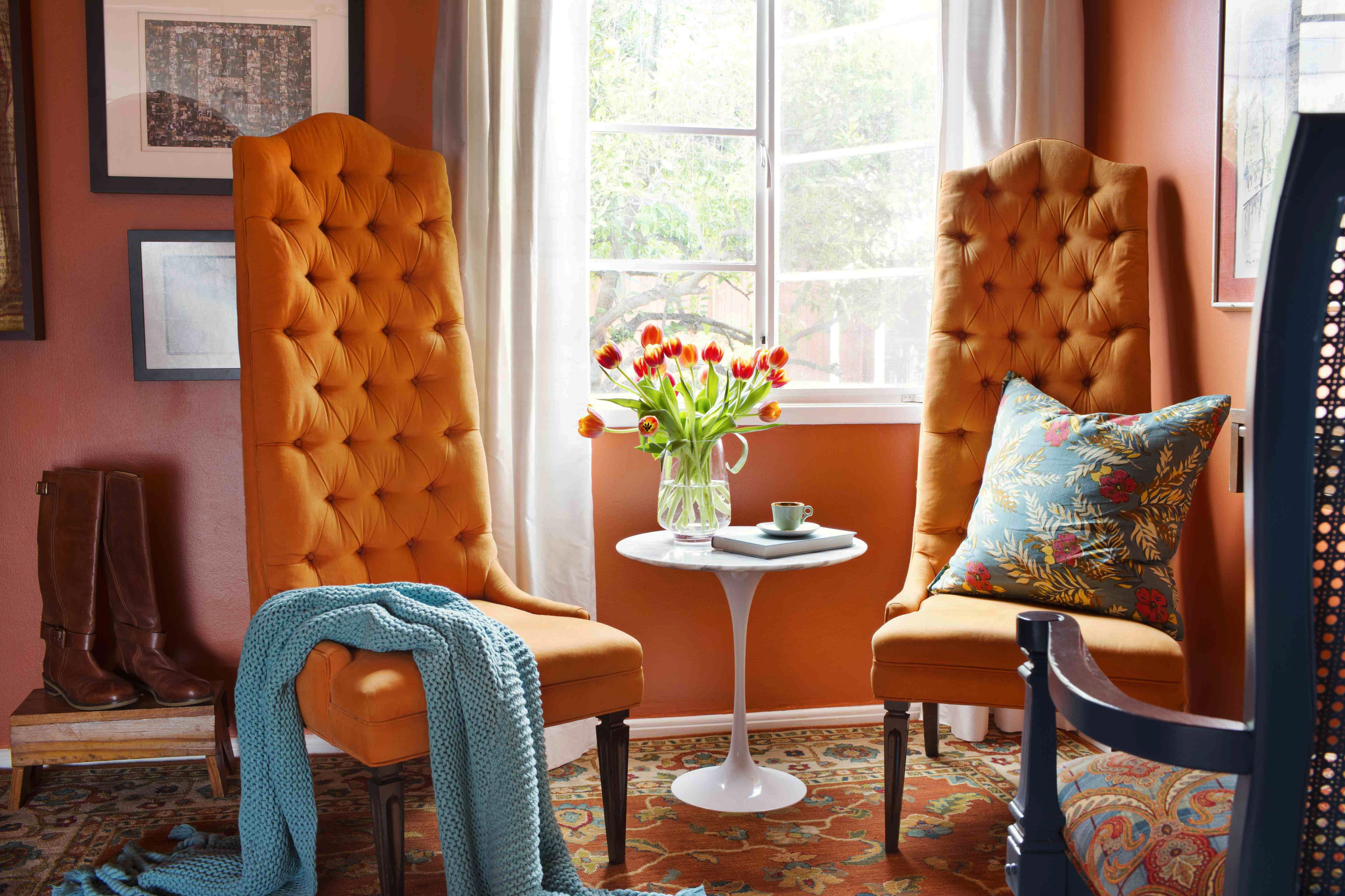 Orange Decor for Living Room Fresh How to Decorate Your Home with orange S