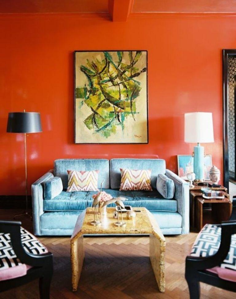 Orange Decor for Living Room Inspirational 15 Lively orange Living Room Design Ideas Rilane
