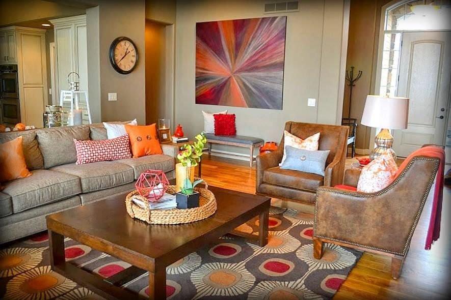 Orange Decor for Living Room Inspirational 40 orange Living Room Ideas S