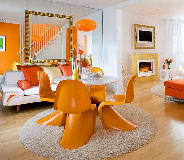 Orange Decor for Living Room Inspirational Decorating with orange How to Incorporate A Risky Color