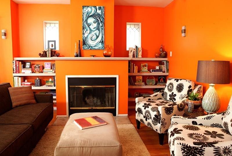 Orange Decor for Living Room Luxury 15 Lively orange Living Room Design Ideas Rilane