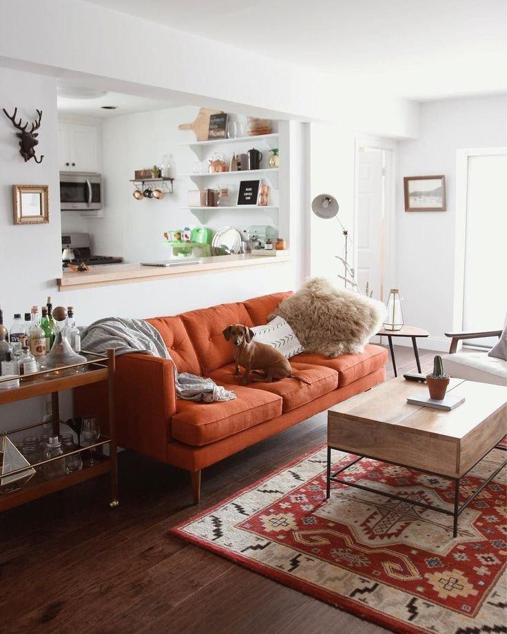 Orange Decor for Living Room Luxury Best 25 orange sofa Ideas On Pinterest