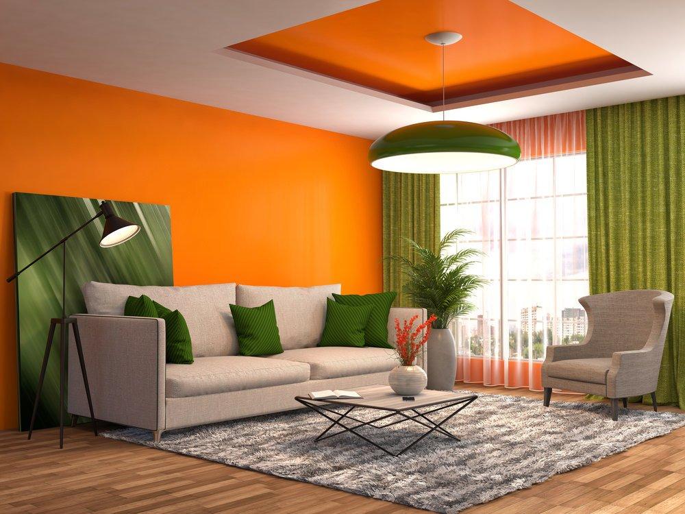 Orange Decor for Living Room New 40 orange Living Room Ideas S