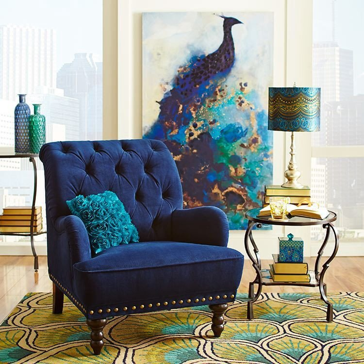 Peacock Decor for Living Room Inspirational Pier E Peacock Decor Home Decor Pinterest