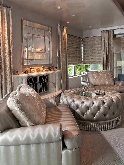 Pictures for Living Room Decor Elegant Hollywood Glam Ideas Remodel and Decor