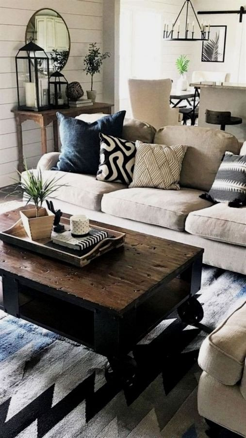 Pictures for Living Room Decor Fresh Elegant Farmhouse Living Room Design and Decor Ideas 35