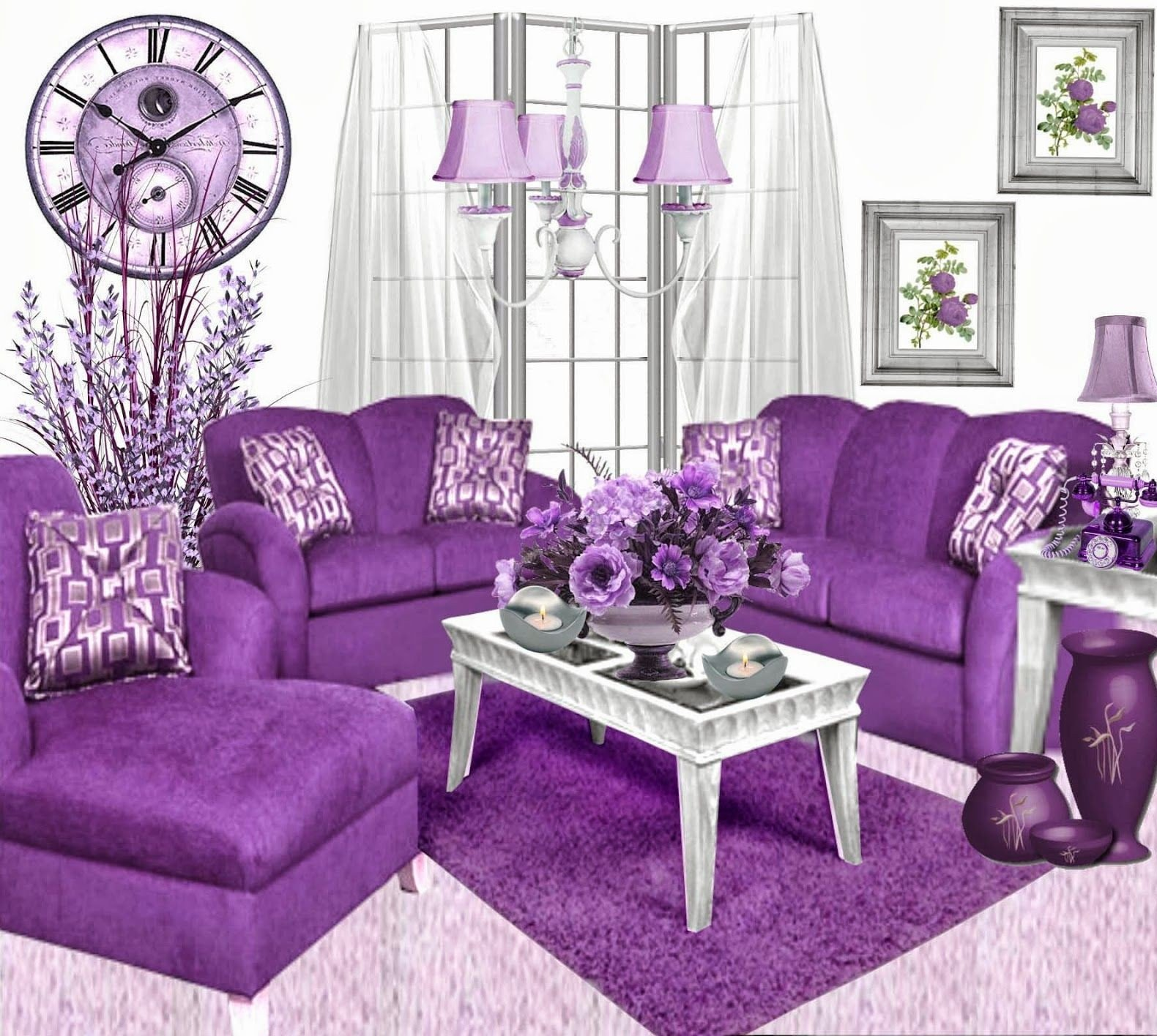 Purple Decor for Living Room Best Of Tips On Decorating Purple Living Room Decorating Room