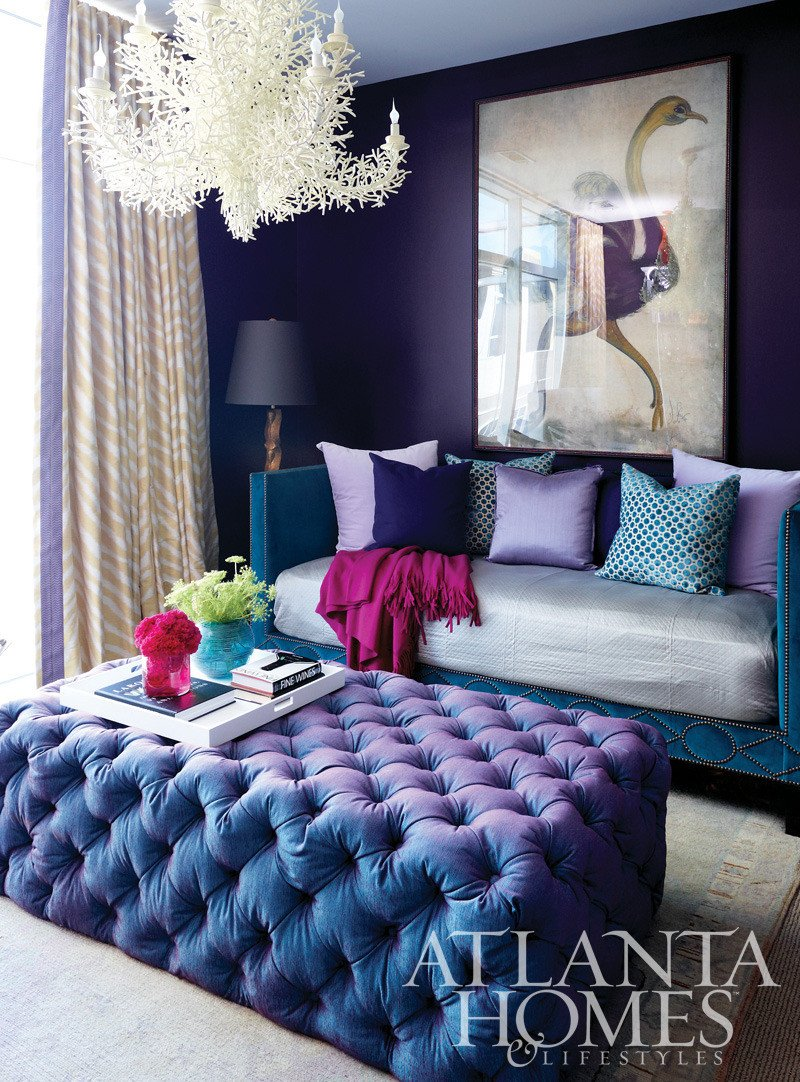 Purple Decor for Living Room Elegant Purple Home Decor On Pinterest