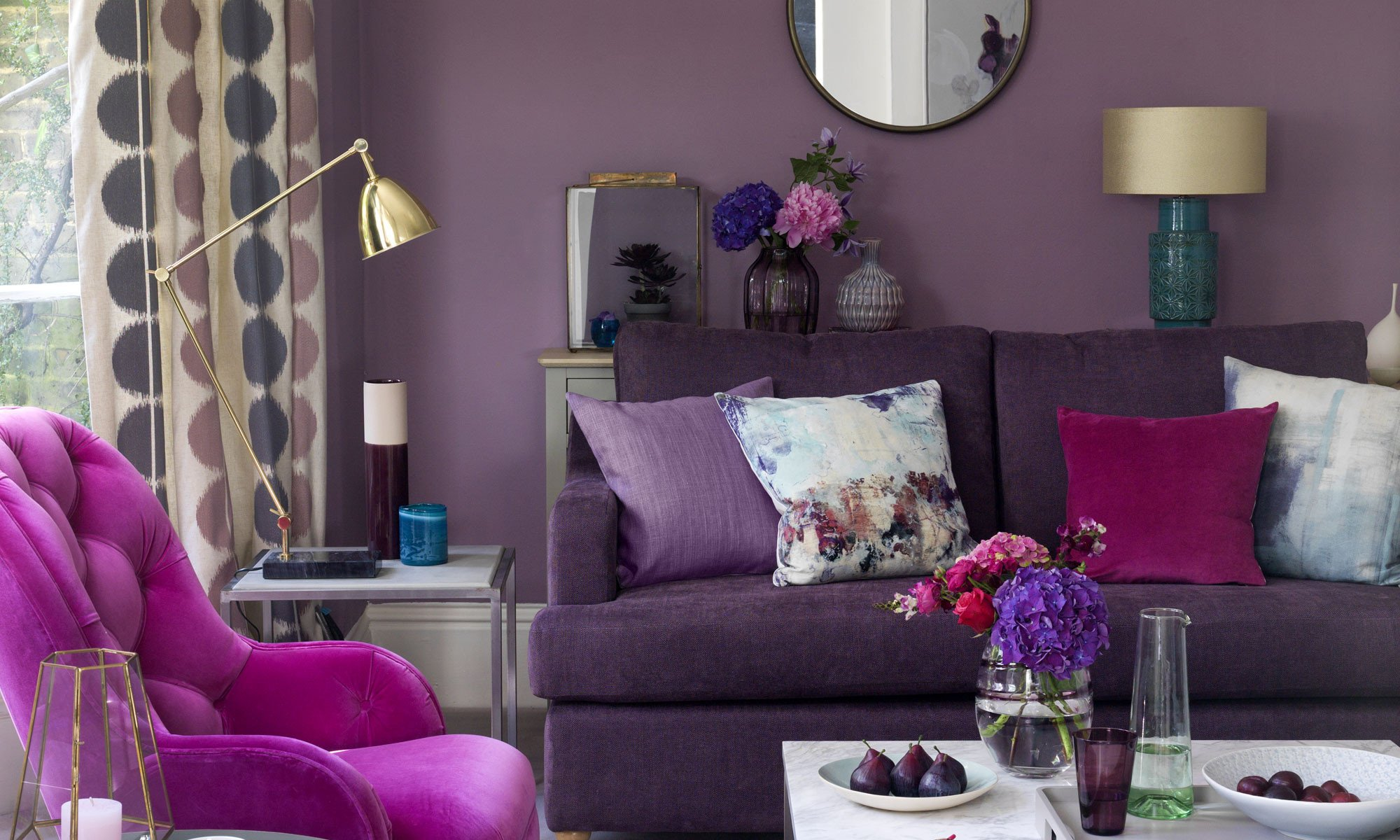 Purple Decor for Living Room Inspirational Purple Living Room Ideas