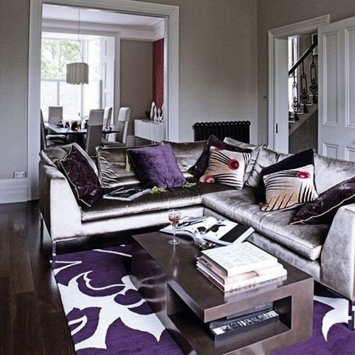 Purple Decor for Living Room Lovely Alfombras Para Living Con Pisos Oscuros