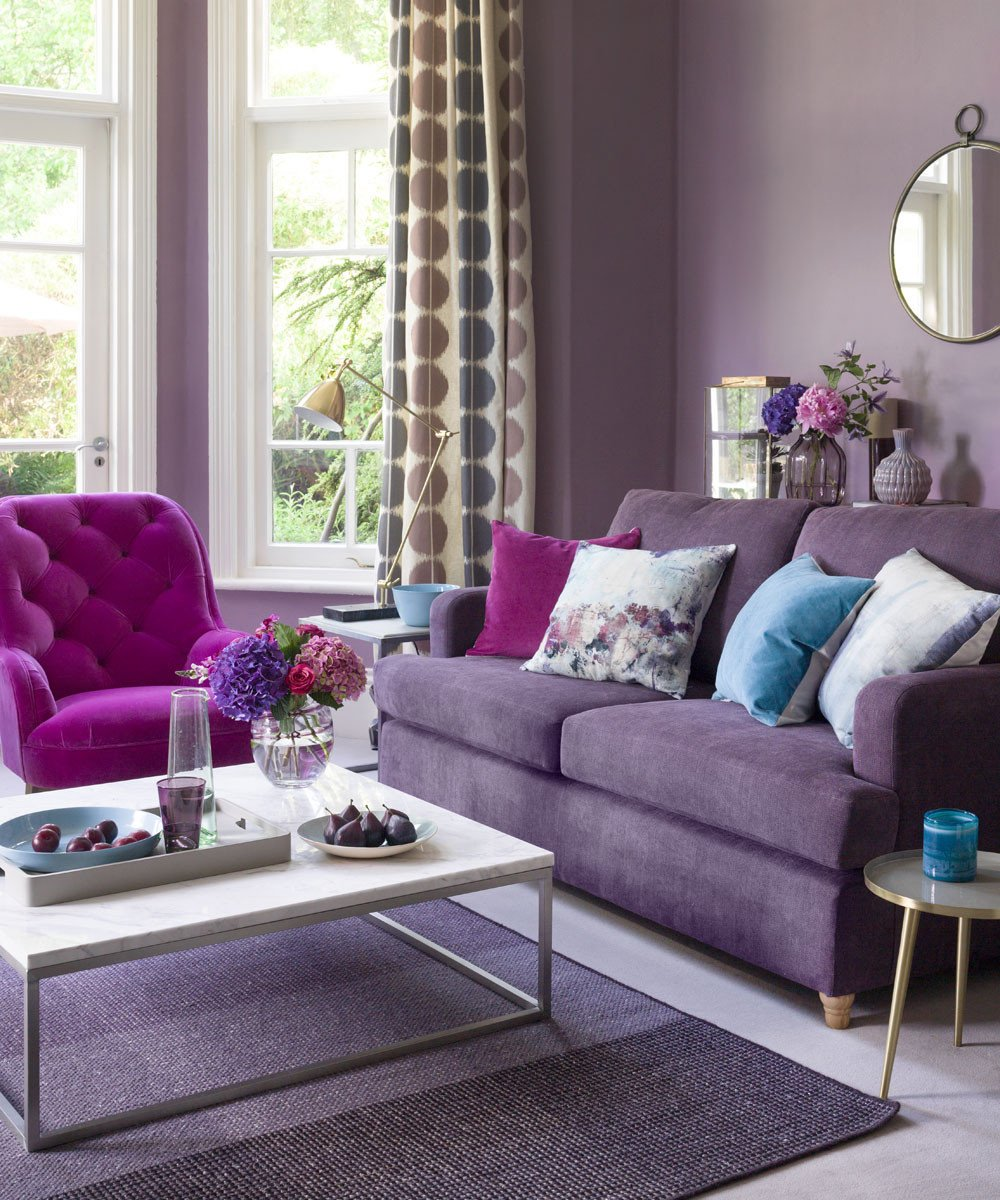 Purple Decor for Living Room Lovely Purple Living Room Ideas
