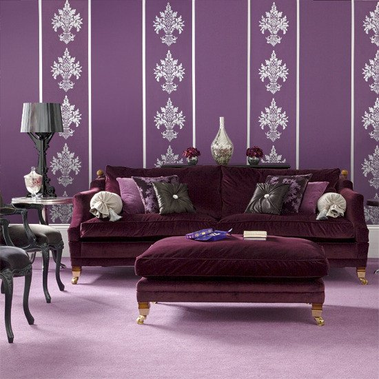 Purple Decor for Living Room Luxury Pause for something Pretty In Purple