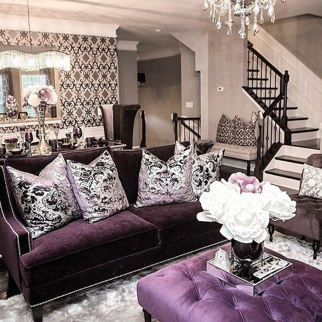 Purple Decor for Living Room Unique Best 25 Purple Living Rooms Ideas On Pinterest