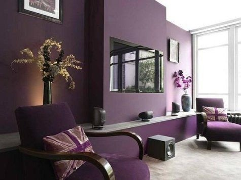 Purple Wall Decor Living Room Awesome 25 Best Ideas About Purple Living Rooms On Pinterest